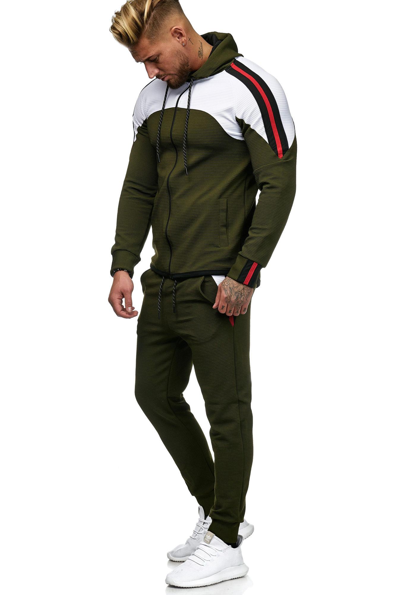 Sweat Suit Man Khaki 52006 1