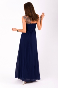 EVA&LOLA  DRESS NAVY BLUE 51009-6