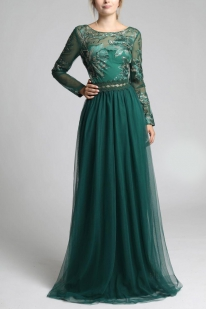 SOKY SOKA DRESS BOOTLE GREEN 600011-1