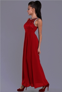 EVA & LOLA RED dress- 7815-7
