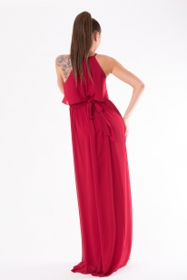 EVA&LOLA  DRESS RED 54006-1