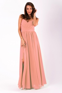 EVA&LOLA  DRESS POWDER PINK 51008-7
