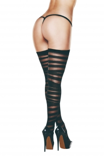 BACI PANTYHOSE TIGHTS WITH A SILICONE STRAP
