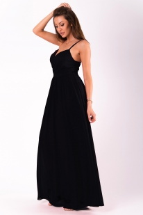EVA & LOLA DRESS BLACK 51008-6