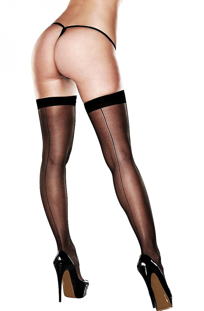 BACI PANTYHOSE TIGHTS WITH A SILICONE STRAP 50001-4