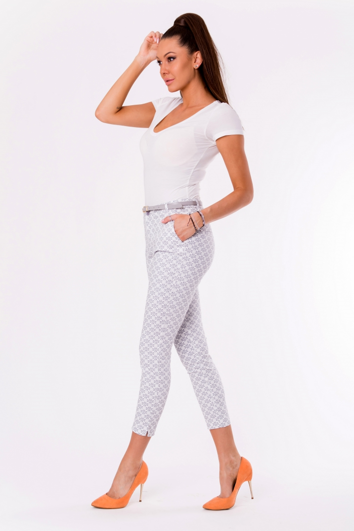 TROUSERS+BELT -GREY 48012-1
