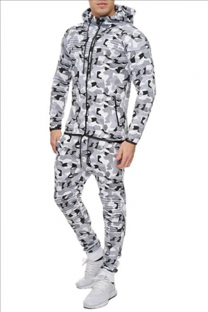 SWEAT SUIT MAN- WHITE CAMO 52011-1