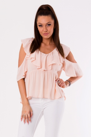 BLOUSE -POWDER PINK 48027-3