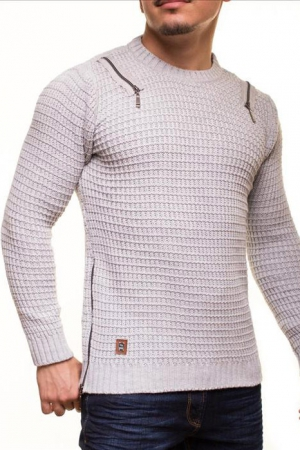 MALE SWEATER CRSM - GREY 9507-2