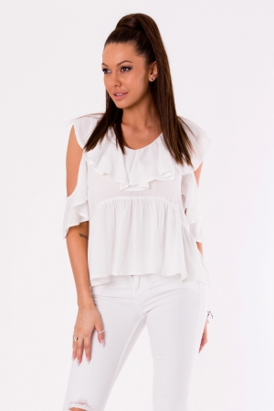 BLOUSE -WHITE 48027-2