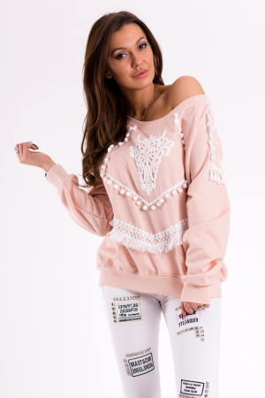 SWEATER - LIGHT PINK 46003-1