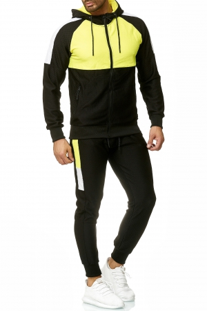 SWEAT SUIT MAN ALI- YELLOW  59003-1
