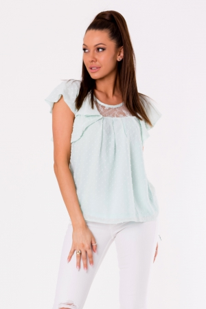 BLOUSE -BLUE 48028-3
