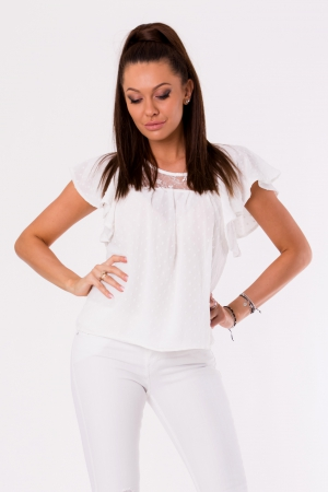 BLOUSE -WHITE 48028-1