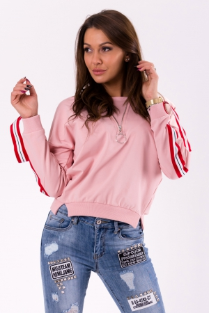 BLOUSE- LIGHT PINK 46027-3