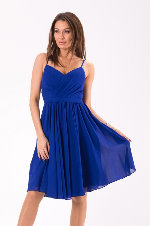 EVA&LOLA  DRESS COBALT 46039-1