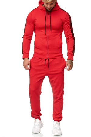 SWEAT SUIT MAN- RED 52003-2