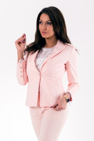 Jacket-LIGHT PINK 46011-1